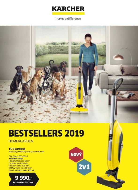 Karcher - bestsellers 2019 značky Karcher Home & Garden.