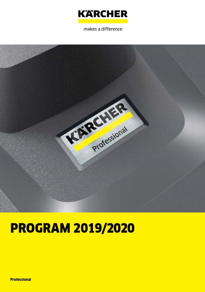 Karcher program - program výrobků 2019/2020 značky Karcher.