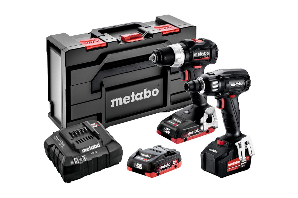 Metabo COMBO zestawy Black Edition