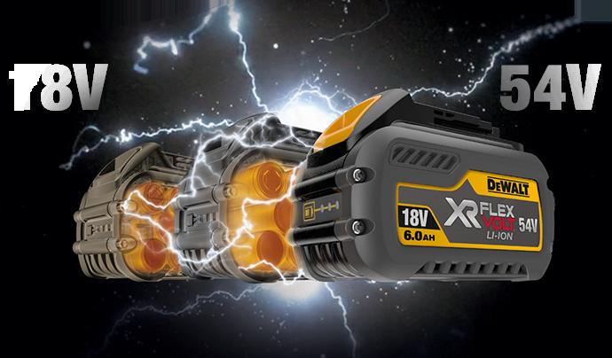 XR FLEXVOLT: Baterie, která mění pravidla hry