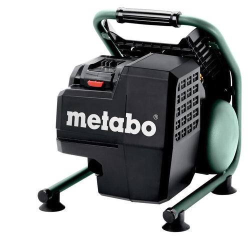Ľahký a výkonný: Nový AKU kompresor Metabo