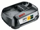 Bosch Systémové příslušenství 18V lithium-iontové Akumulátor PBA 18V 2.5Ah W-B