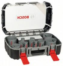 Bosch 17dílná sada univerzálních děrovek HSS BIM