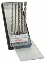 Bosch 5-częściowy zestaw wierteł do młotów SDS plus-7 Robust Line