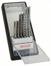 Bosch 6-dielna súprava pílových listov do priamočiarych píl Robust Line Progressor, so stopkou U