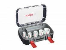 Bosch 9dílná sada děrovek Progressor pro elektrikáře 22; 29; 35; 44; 51; 65 mm