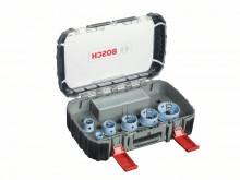 Bosch 9dílná sada děrovek Sheet Metal pro elektrikáře