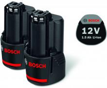 BOSCH 2x GBA 12V 1,5Ah Professional