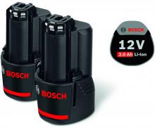 Bosch 2 x GBA 12V 2.0Ah