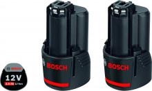 Bosch 2 x GBA 12V 3.0 Ah