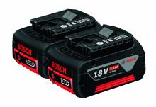 BOSCH 2x GBA 18V 4,0Ah Professional