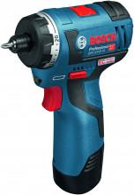 Bosch GSR 12V-20 HX (2x akumulátor, rychlonabíječka)