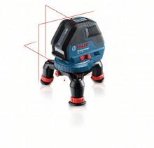 Bosch 0601063803 + držák + přijímač + L-Boxx 136 BOSCH GLL 3-50 + BM 1 + LR 2