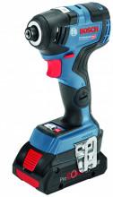 Akumulátorový rázový utahovák Bosch GDR 18V-200 C Professional
