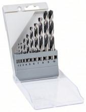 Bosch 10dílná sada spirálových vrtáků HSS PointTeQ
