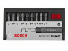 Bosch 10dílná sada šroubovacích bitů Diamond Impact (smí