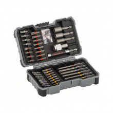 Bosch 43dílná sada šroubovacích bitů a nástrčných klíčů