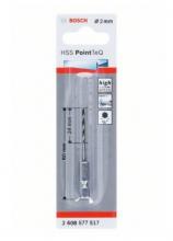 Bosch Vrták HSS PointTeQ so šesťhrannou stopkou 2mm