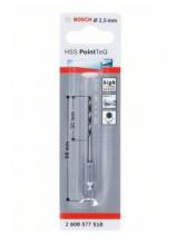 Bosch Vrták HSS PointTeQ so šesťhrannou stopkou 2,5mm