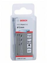Bosch Vrták HSS PointTeQ so šesťhrannou stopkou 3mm, 10