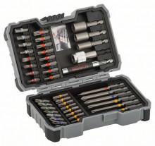 Bosch 43-częściowy zestaw końcówek wkręcających i kluczy nasadowych