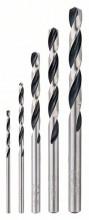 Bosch 5dílná sada spirálových vrtáků HSS PointTeQ
