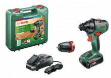 Bosch AdvancedDrill 18 (s akumulátorem a nabíječkou)