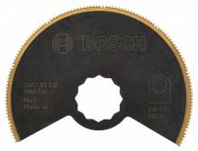BOSCH Bimetalový titan-nitridový segmentový pilový kotouč SACI 85 EB Multi Material - 85 mm