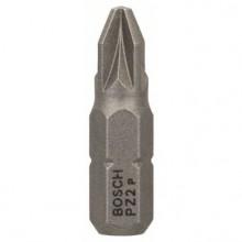 Bosch Końcówka wkręcająca PZ2, 25 mm, chwyt sześciokątny