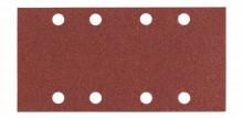 BOSCH Brusný papír C430, balení 10 ks; 93 x 186 mm, 4x60; 4x120; 2x180