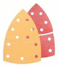 BOSCH 25dílná sada brusných papírů C470 aC430; 102 x 62, 93 mm, 3x40, 6x80, 3x120, 3x180, 2x40, 2x80, 4x120, 2x180