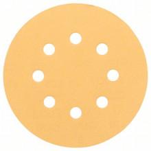 BOSCH Brusný papír C470, balení 50 ks; 125 mm, 220
