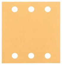 BOSCH Brusný papír C470, balení 10 ks; 115 x 107 mm, 240
