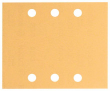 BOSCH Brusný papír C470, balení 10 ks; 115 x 140 mm, 2x40; 2x60; 2x80; 2x120; 2x180