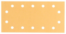 Bosch Brúsne listy C470 pre vibračné brúsky, Best for Wood and Paint, 115 x 230 mm, 14 otvorov