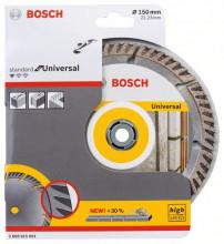 Bosch Diamantový rezací kotúč Standard for Universal 150
