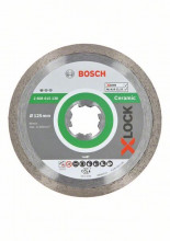 Bosch Diamantový rezací kotúč X-LOCK Standard for Ceramic, 125 x 22,23 x 1,6 x 7