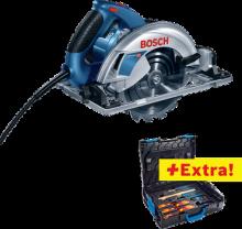 Bosch GKS 65 CGE + nářadí Gedore