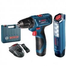 Bosch GSR 120-LI + GLI 12V-300