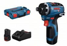 Bosch GSR 12V-35 HX (z akumulatorem, ładowarką i walizką).