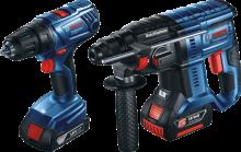 Bosch GSR 180-LI + GBH 180-LI