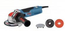 Bosch GWX 19-125 S+flex kabel + 5x optický disk