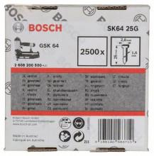 Bosch Sztyft, łeb wpuszczany, SK64 25G