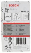 Bosch Sztyft, łeb wpuszczany, SK64 20NR