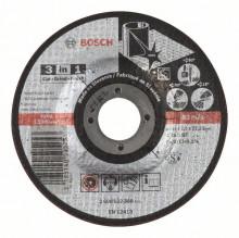 BOSCH Dělicí kotouč 3 v 1 - A 46 S BF, 125 mm, 2,5 mm
