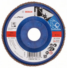 BOSCH Lamelový brusný kotouč X571, Best for Metal; 180 mm, 22,23 mm, 120