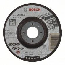 BOSCH Hrubovací kotouč profilovaný Best for Inox - A 30 V INOX BF, 125 mm, 7,0 mm
