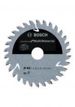 Bosch tarcza piłowa do różnych materiałów do pilarek tarczowych i aku pilarek