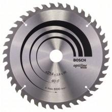 BOSCH Pilový kotouč Standard for Wood 85x15x1,1/0.7mm 20z pro GKS 10.8 V-LI