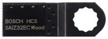 Bosch Brzeszczot zatapialny ze stali wysokowęglowej SAIZ 32 EC Wood - 40 x 32 mm